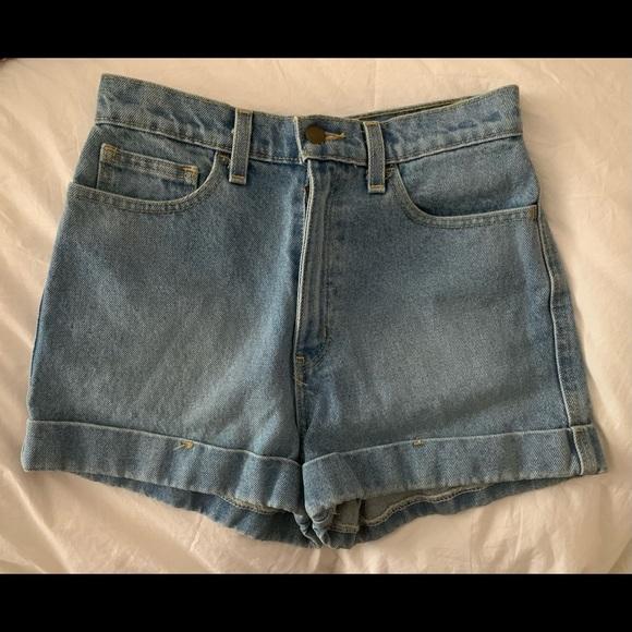 Brand new size 26 American apparel denim shorts